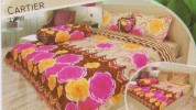 BED COVER LADY ROSE 180 Cartier